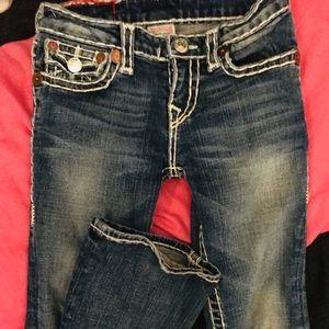 True religion jeans. Size 8